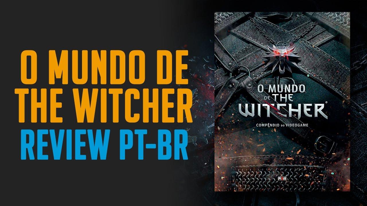 O Mundo de The Witcher Compendium (Português) Review detalhado PT-BR