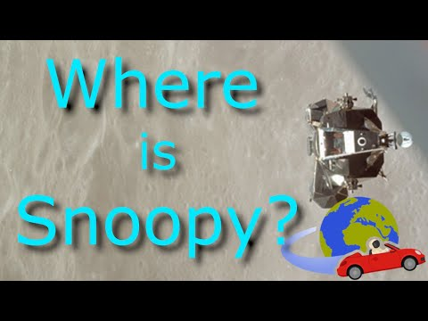 Where is Snoopy, the long lost Apollo Lunar Lander?