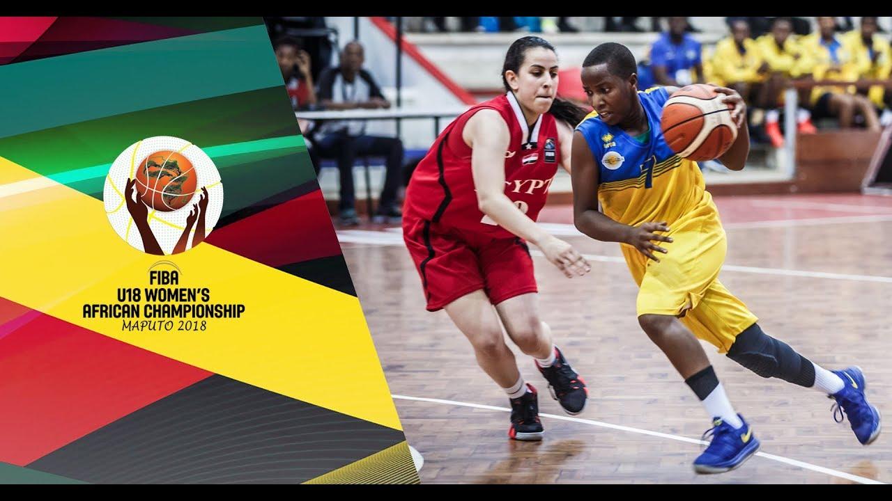 Rwanda v Egypt - Full Game - FIBA U18 Women s African Championship 2018 4785ab10f0f6c