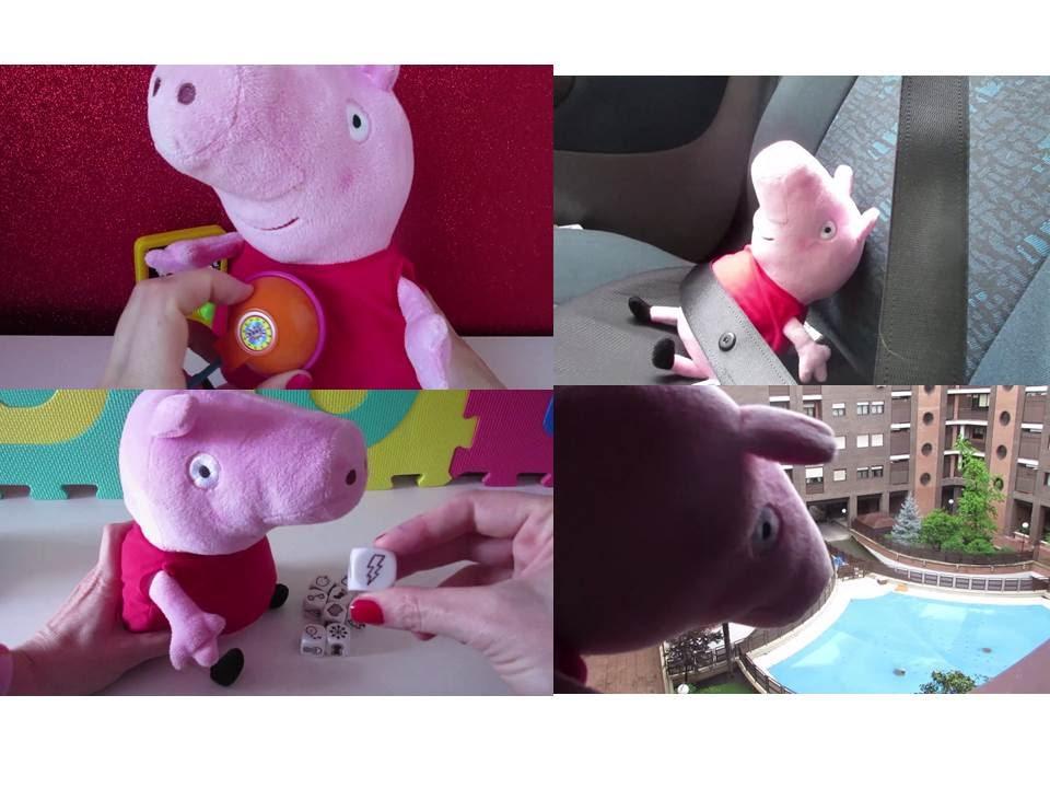30 minutos de peppa pig que viaja en coche cuenta un for Peppa pig en la piscina