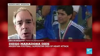Diego Maradona dies: Argentina announces three days of national mourning
