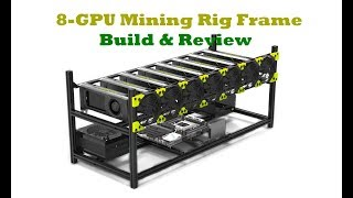 8 GPU Mining Rig Frame by Veddha | Build & Review