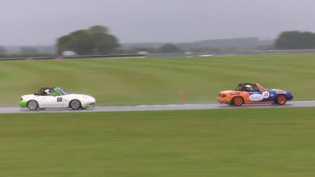 Davanti Tyres Mazda MX5 Championship by 5Club - Snetterton 2018 - Race 1 (Full)