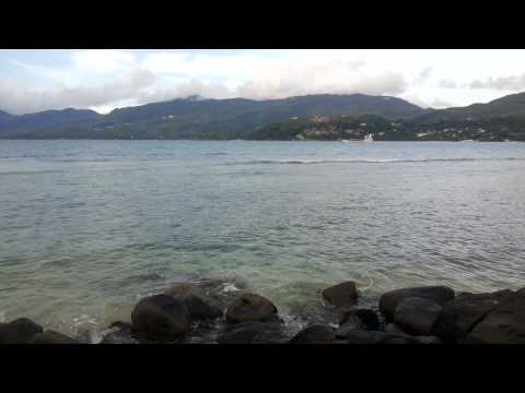 ID:515 Beach and sea front land on Mahe, Seychelles