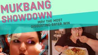 Mukbang Showdown | Amberlynn Reid VS. Foodie Beauty aka: Chantal Marie