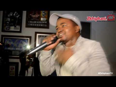 Maraza performs GWAN at BLIND album launch