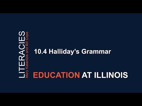 10.4 Halliday's Grammar