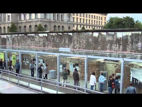 Topography of Terror Museum Video; Berlin, Germany