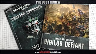 Live Review: Chapter Approved 2018 and Vigilus Defiant from Games Workshop.