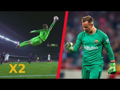 24 DOUBLES Sensational Goalkeepers Saves in Football History