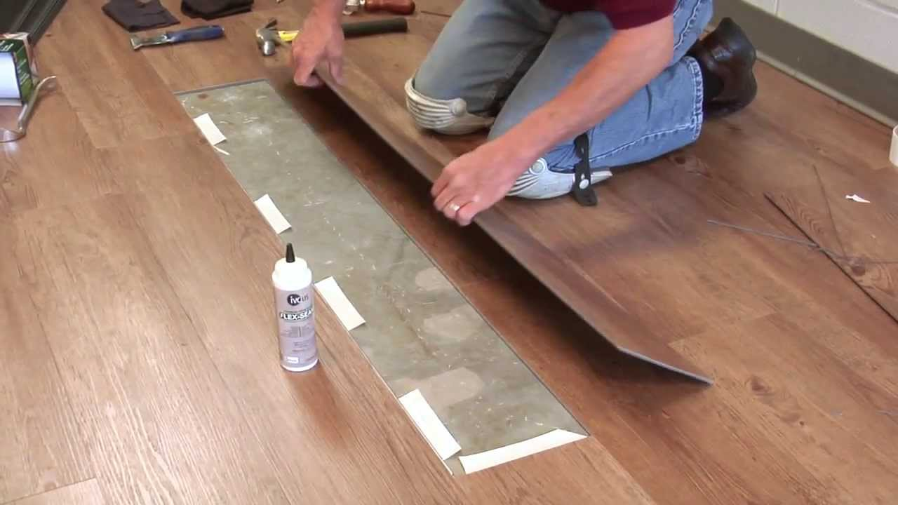4 Plank Tile Replacement Moduleo 174 Lvt Click Flooring Ivc Us Youtube