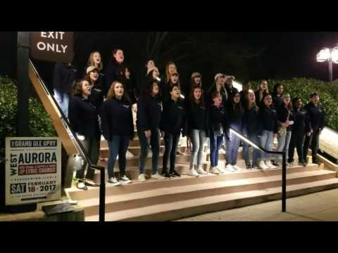West Aurora Highschool Choir Performs at Grand Ole Opry and Country Music Hall of Fame