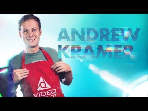 Andrew Kramer aka Mr. Video Copilot Livestream