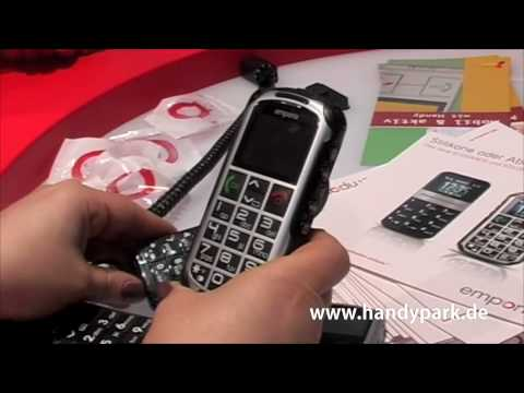 Emporia Senioren Handys auf der Cebit 2010