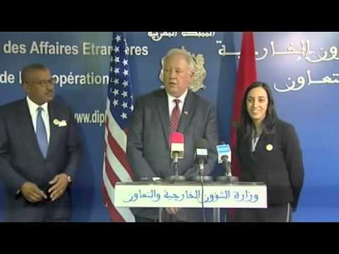 Al Aoula, US Under Secretary of State for Political Affairs Thomas Shannon Visit to Morocco