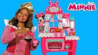 Minnie's Happy Helpers Brunch Cafe ! || Disney Toy Review || Konas2002