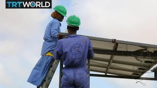 Somalia Female Electrician: Woman reaches for new heights in a man's world