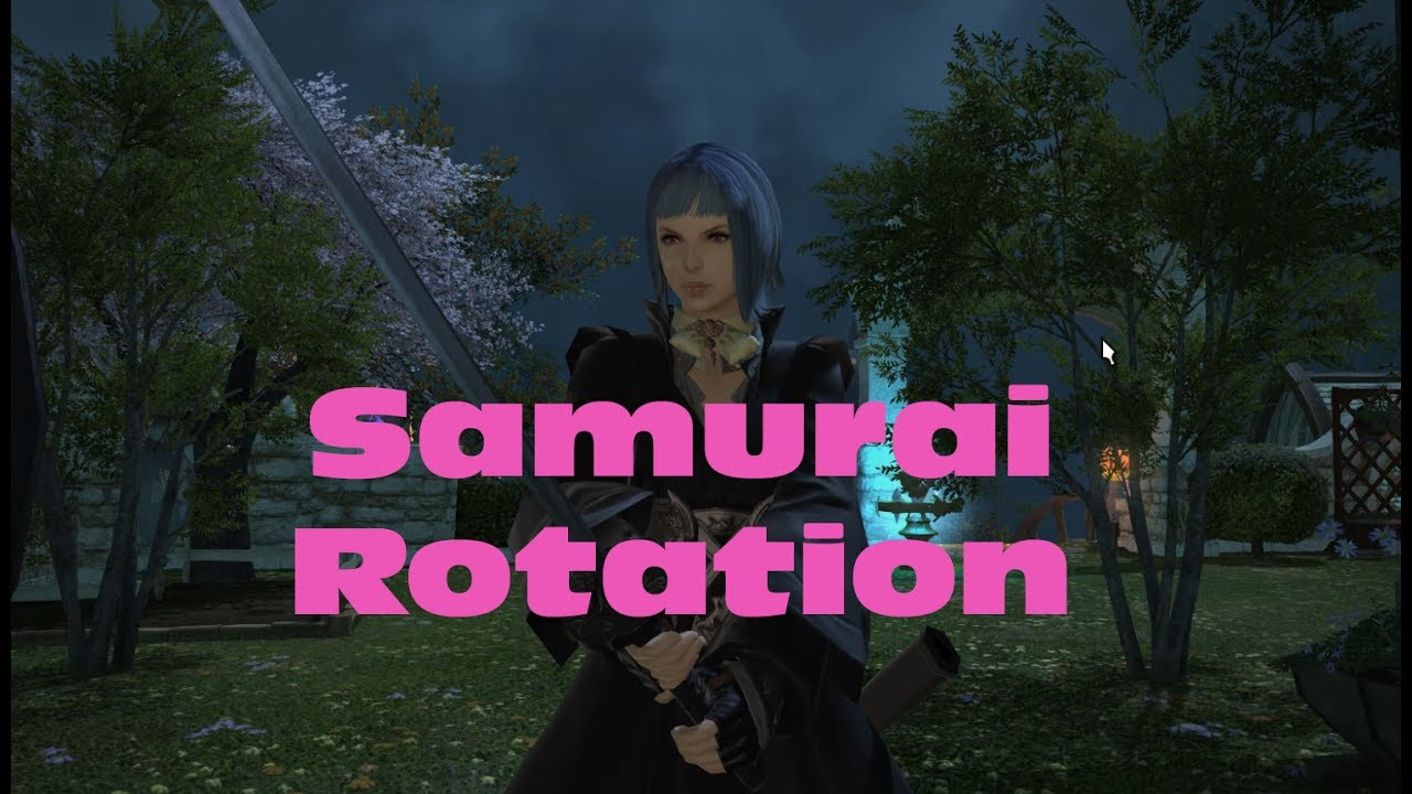FF14 Stormblood - Samurai Rotation at 50