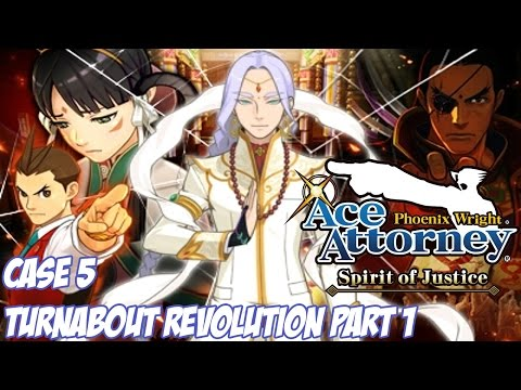 Phoenix Wright: Ace Attorney - Spirit of Justice - Turnabout Revolution Pt. 1