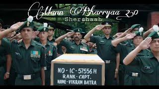 Mann Bharya 2.0 | Shershaah hurt Touching Part😞 | Siddharth Malhotra | Kiara Advani | B Praak