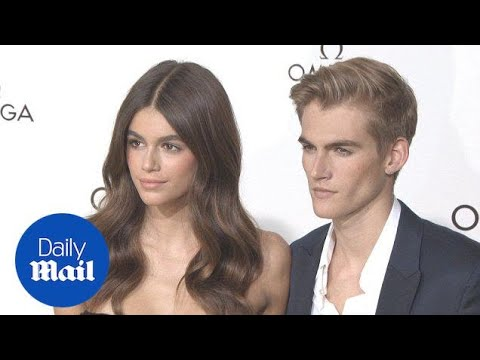 Kaia & Presley Gerber At 'Her Time' Omega For Paris Fashion Week - Daily Mail