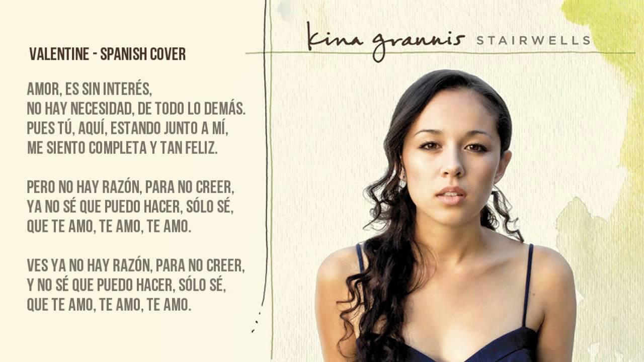 Kina Grannis   Valentine Spanish Cover/Cover En Español   YouTube