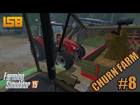 [LIVE] FS15 | #8 Carrière sur Churn Farm 2015