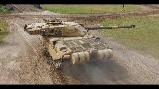 Zapętlaj Challenger 1 MBT FV4030/4 TANK destroyer: Saddam's GULFWar / elite Republican Guard | IDP Film