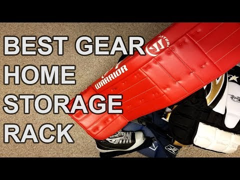 The Last Goalie Gear Storage Rack You'll Ever Need!