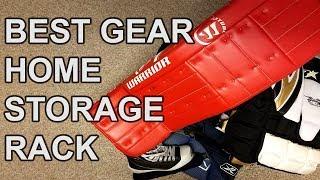 The Last Goalie Gear Storage Rack You