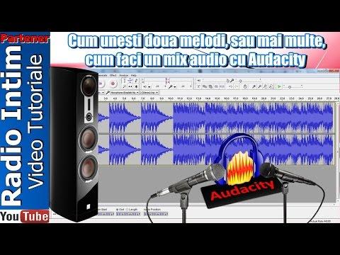 Cum unesti doua melodi, sau mai multe, cum faci un mix audio cu Audacity