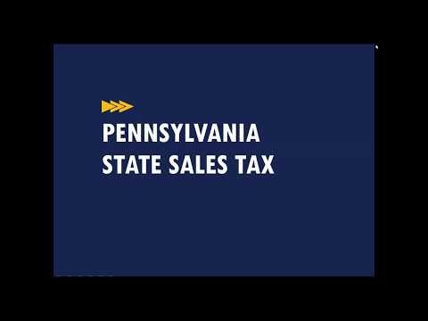 Webinar: Pennsylvania State Tax Update