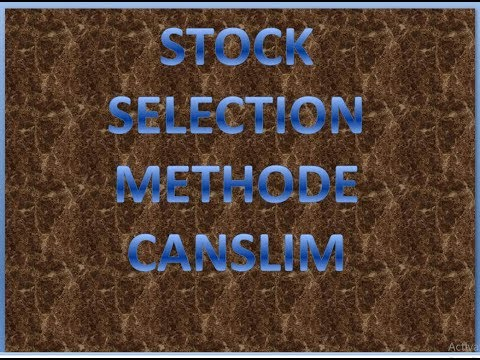 STOCK SELECTION METHOD CANSLIM FOR LESS THEN 5YEARS INVESTMENT