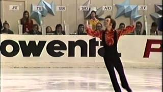 Toller Cranston 1973 World Figure Skating Championships Exhibition