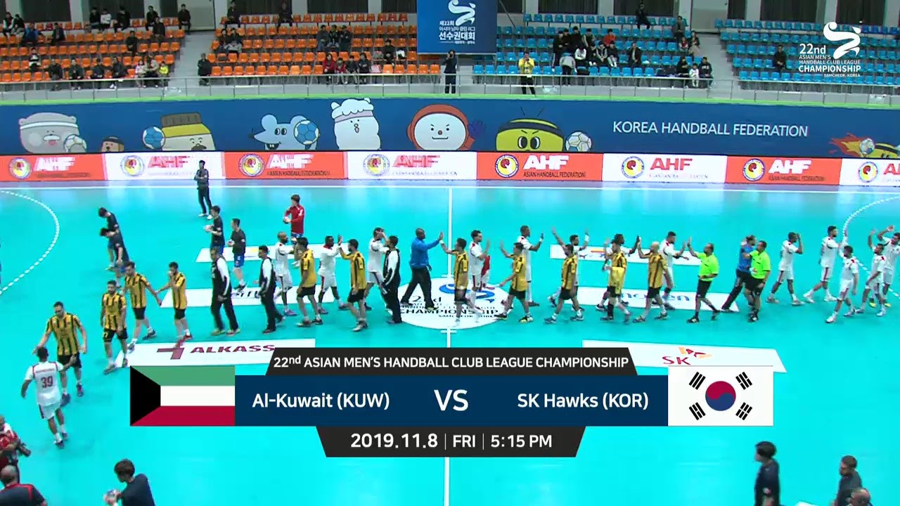 22nd ASIAN MEN'S HANDBALL CLUB LEAGUE CHAMPIONSHIP 2019] AL-Wehda ...