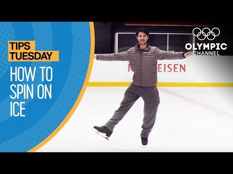 How To Spin in Figure Skating ft. Stephane Lambiel | Olympians' Tips