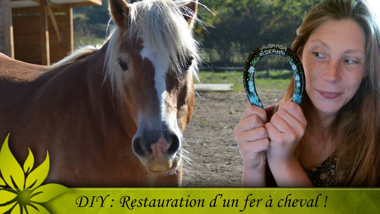 Fabulous DIY] Décoration d'un fer à cheval - YouTube CO73
