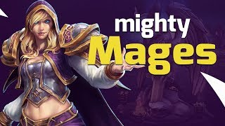So Many Mages! Ranged DPS Fiesta - Heroes of the Storm w Kiyeberries