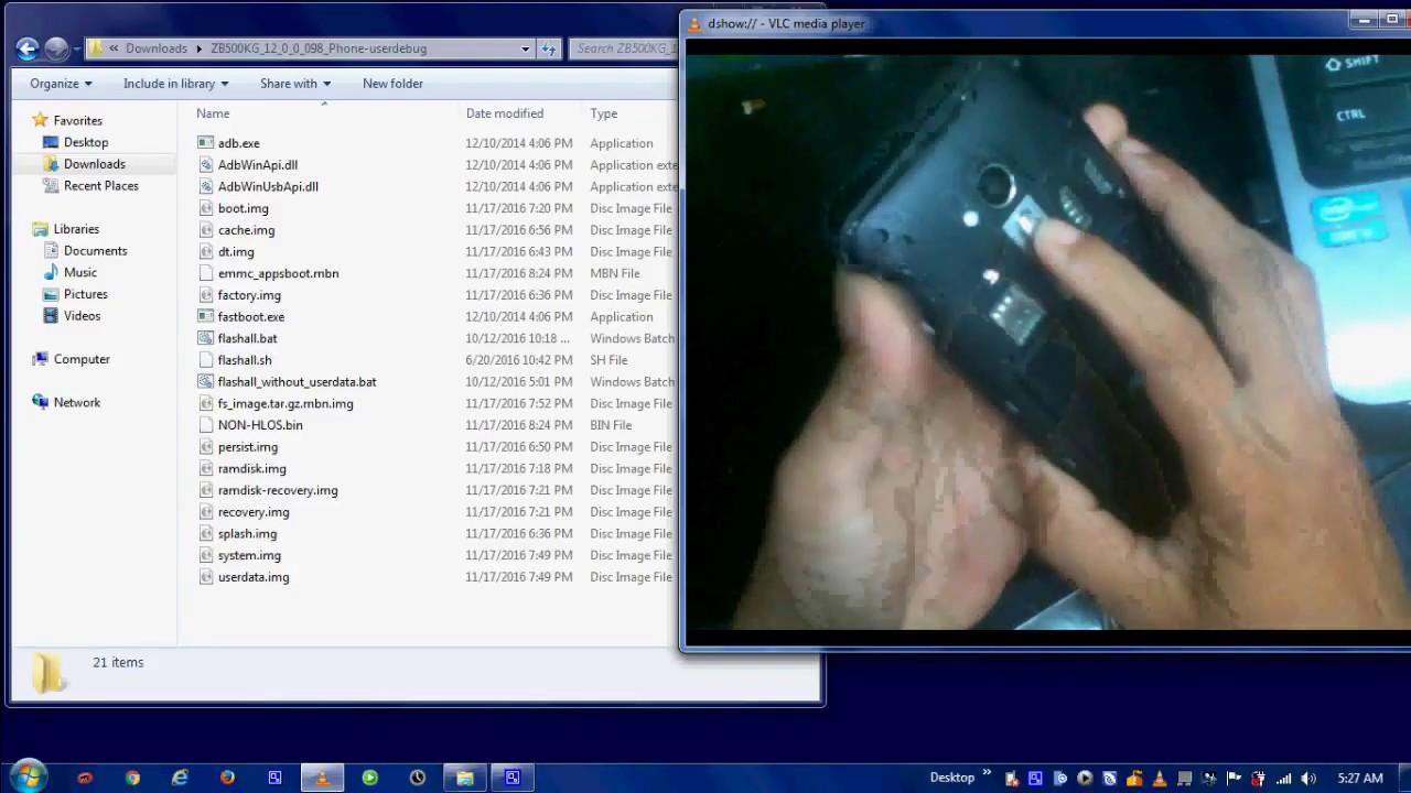 Asus Zenfone Go X013D flashing repair software - Скачать