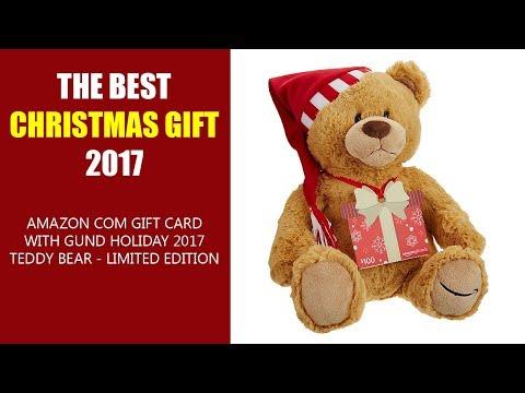 Amazon Limited Edition GUND Holiday 2017 Teddy Bear