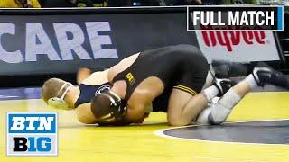 125 LBS: #1 Spencer Lee (Iowa) vs. Brandon Meredith (Penn State) | 2020 B1G Wrestling