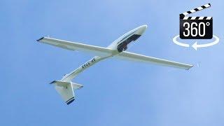 360°🎬 Glider Aerobatics in Jantar Acro (Jurek, Rudniki, EPCH)