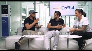 Jean Pierre Kraemer und Daniel Abt testen die EnBW mobility+ App | Der Talk