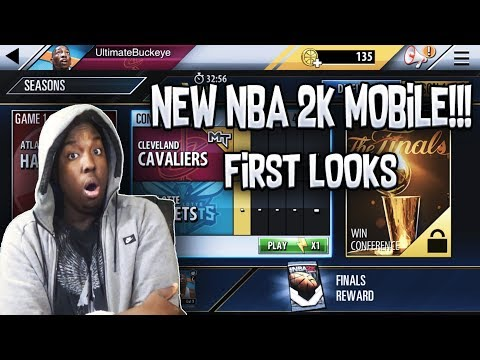 PLAYING NBA 2K MOBILE FOR THE FIRST TIME IN MY LIFE!!! IS THIS THE END OF NBA LIVE MOBILE???