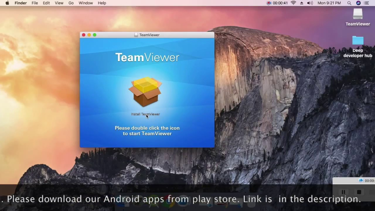 How to install TeamViewer on mac os #Technical Roller
