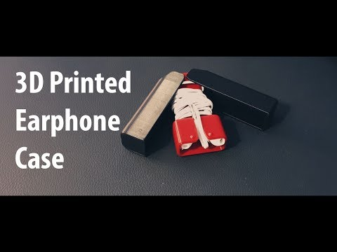 3D Printed Earbuds Case