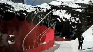 2013 02 08 dal Pordoi a Lupo Bianco Canazei
