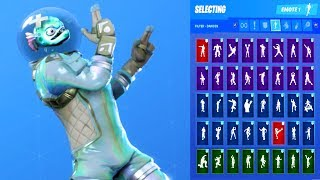 'UPDATE' Fortnite LEVIATHAN Skin Showcase with All Dances ' Emotes 'Demande d'abonné'
