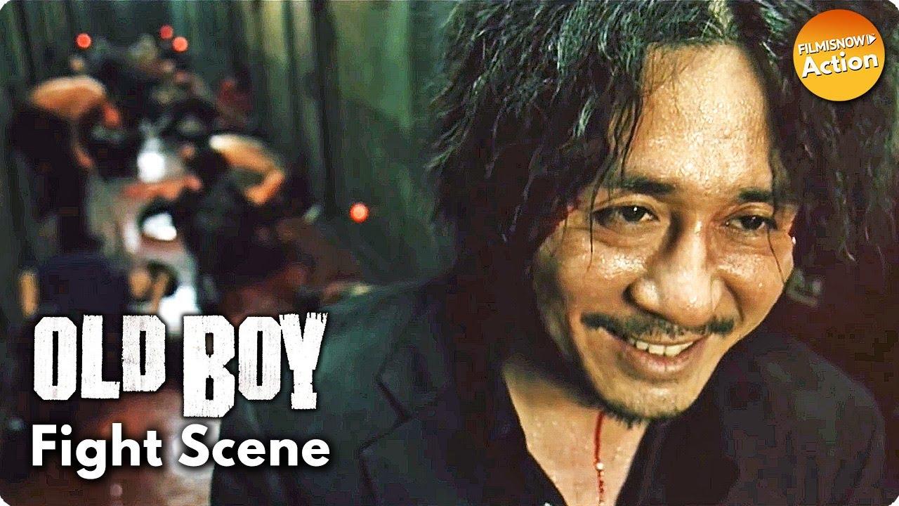 Download OLDBOY (2003) Clip 'Hallway Fight' | #TBT Action Movie Scenes