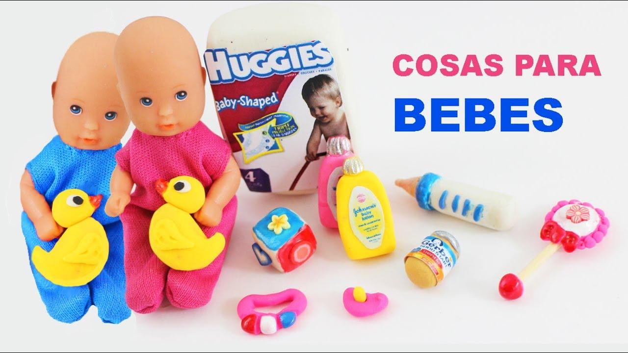 Diy miniatura articulos de bebes para tus mu ecas - Cositas para bebes manualidades ...